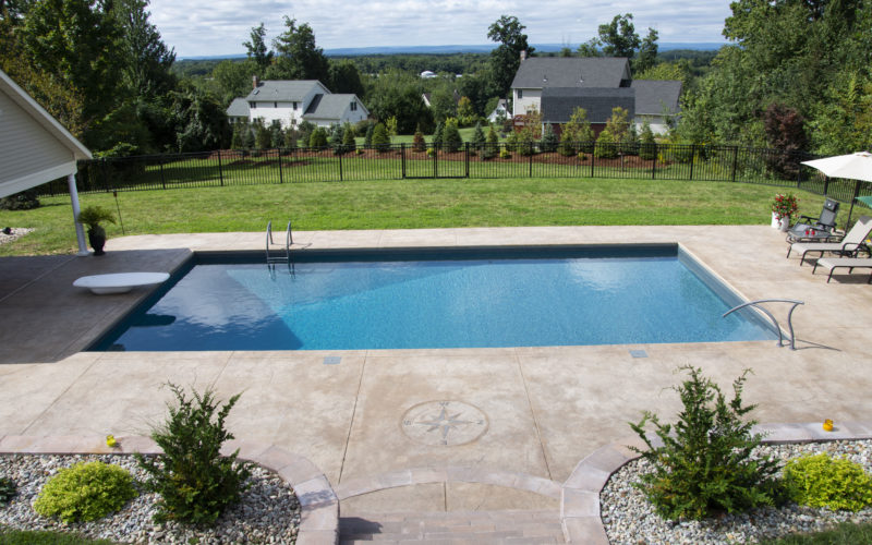 3D Rectangle Inground Pool - East Longmeadow, MA