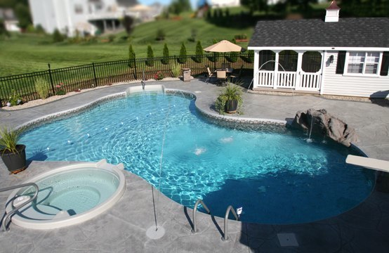 45D Lagoon Inground Pool - Watertown, CT
