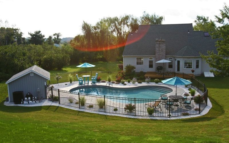 46B Lagoon Inground Pool - Tolland, CT