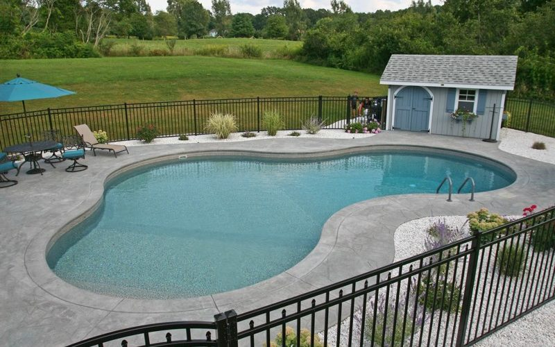 46D Lagoon Inground Pool - Tolland, CT