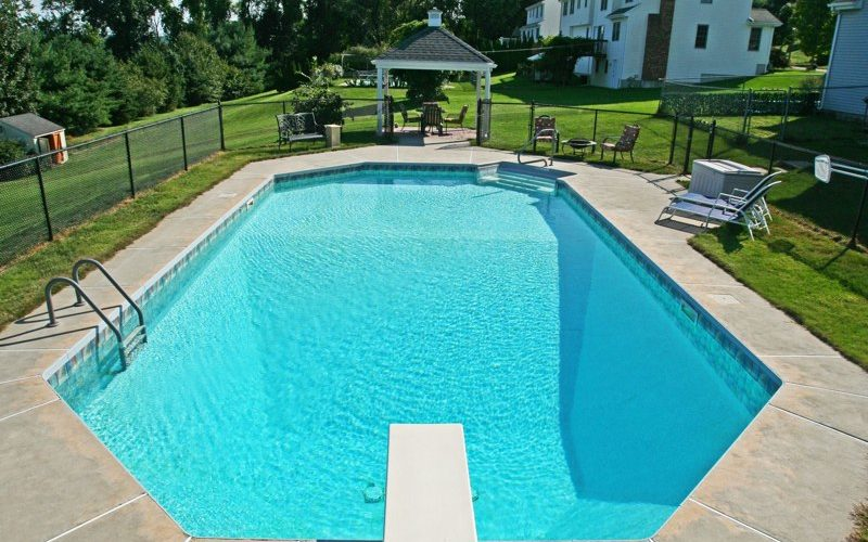 This Is A Photo Of A Custom Inground Pool Installed By Julianos