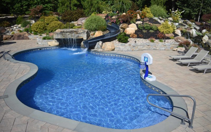 5A Custom Inground Pool - West Springfield, MA