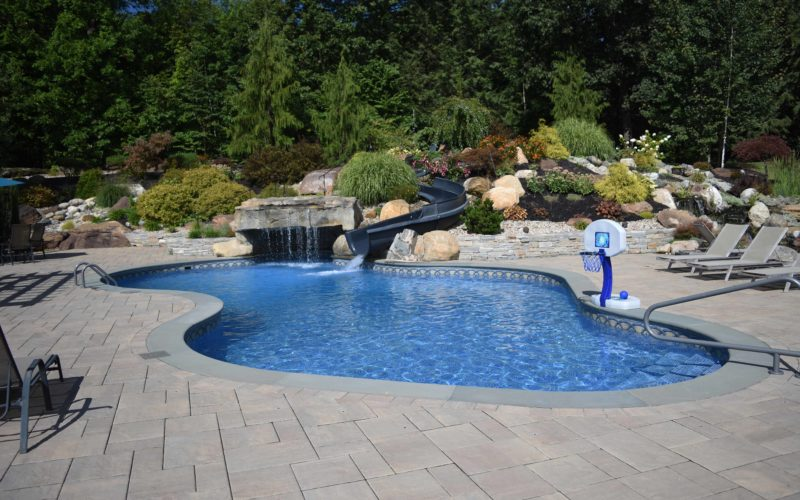 5B Custom Inground Pool - West Springfield, MA