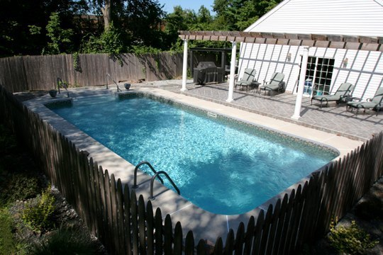 6B Rectangle Inground Pool
