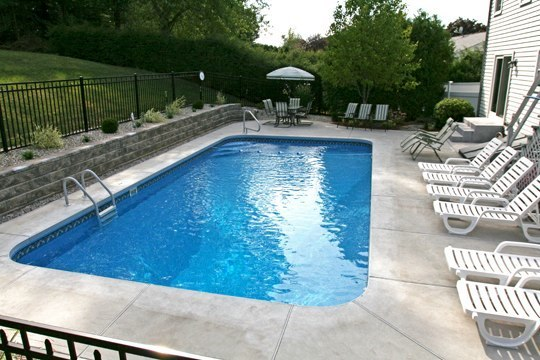7A Rectangle Inground Pool