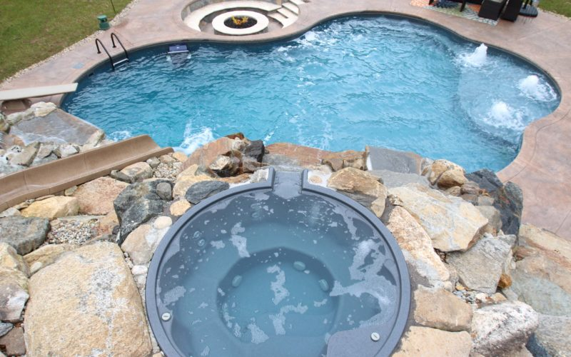 7D CustomInground Pool - Tolland, CT