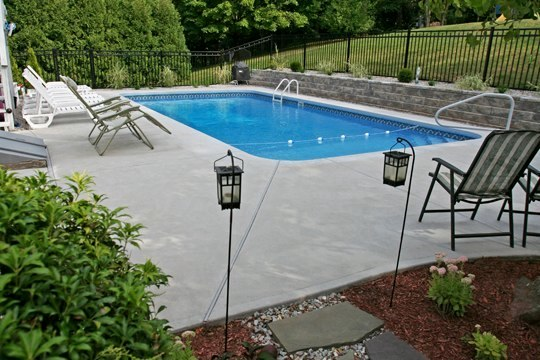 7D Rectangle Inground Pool