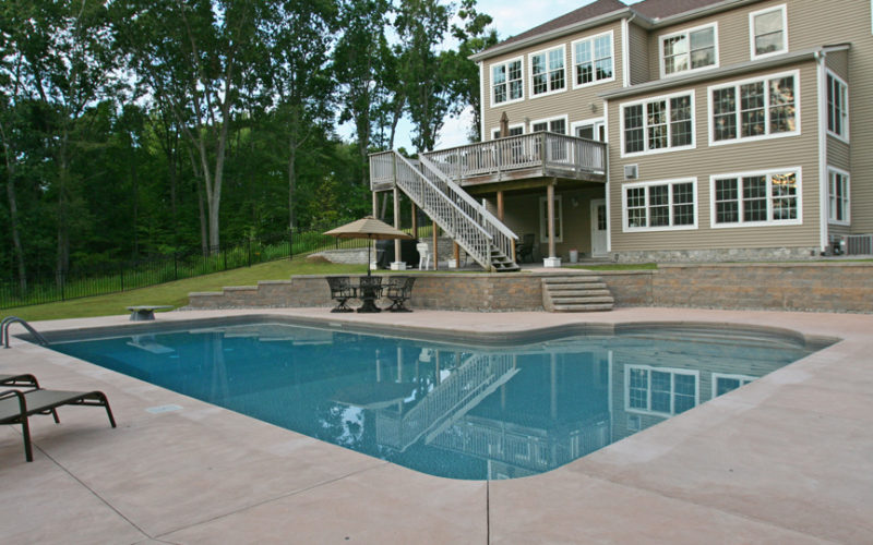 This Is A Picture Of A Custom True L Roman Inground Pool Installed By JulianosCT