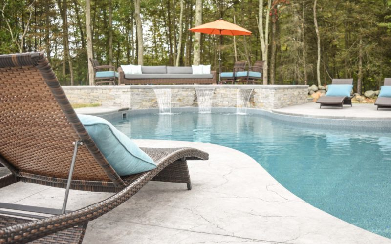 8C Custom Inground Inground Pool - Hebron, CT