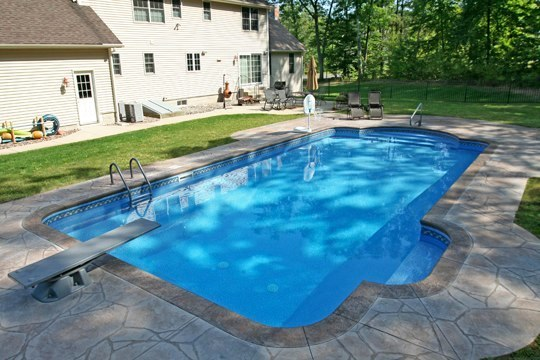 8D Patrician Inground Pool - East Longmeadow, MA