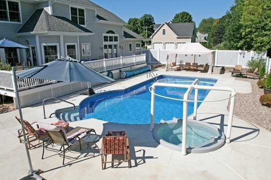 New Construction Keyhole Inground Pool - Cromwell, CT
