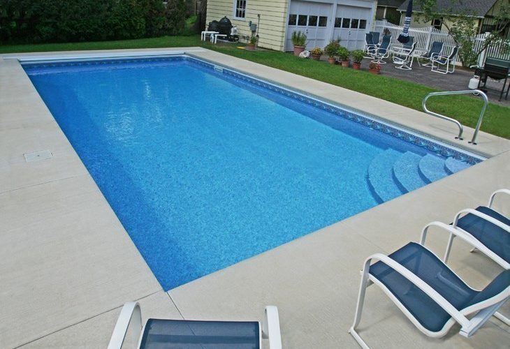 9D Rectangle Inground Pool