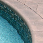 This is a green Swimming Pool Vinyl Liner Replacement