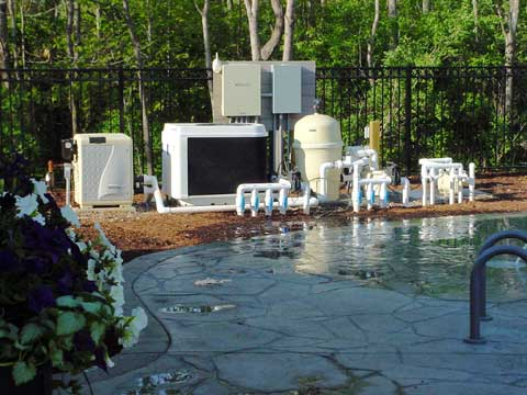 Filter system on home pool - Amherst, MA