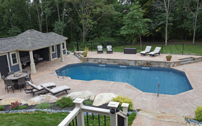 Inground Pool - Suffield, CT