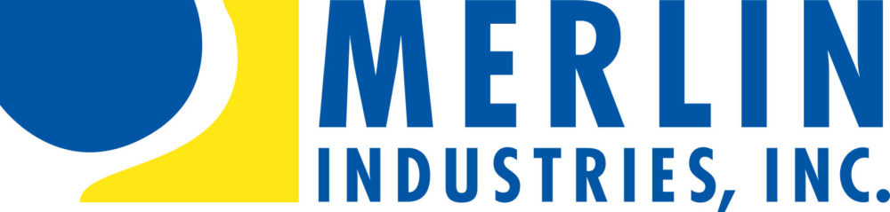 This is a Merlin Industries inc. logo